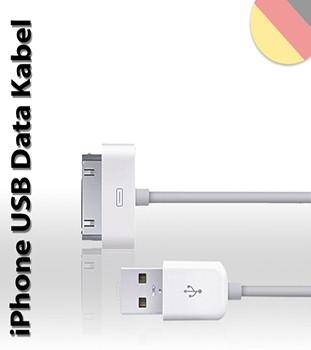 USB Ladekabel Datenkabel iPhone 3/4 iPod iPad 1/2/3